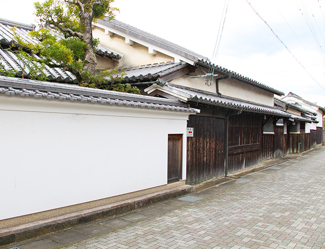 Traditional townscape in the Hiro district