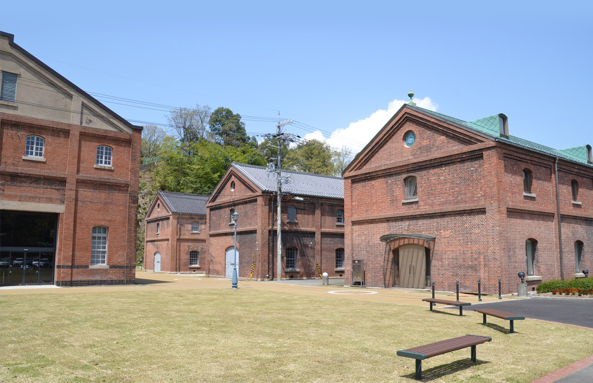 Maizuru Brick Park (Warehouse #5 of Maizuru former naval base)